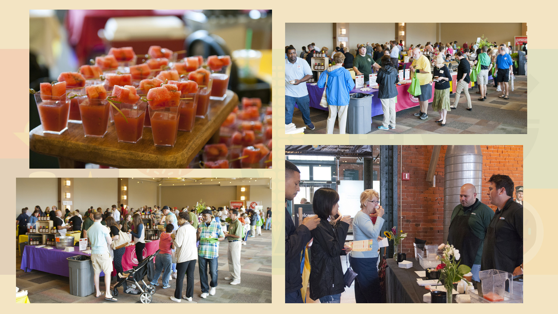HTHG WQED 2015 crowd and food slide